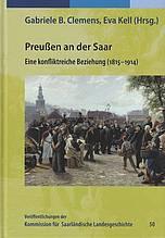 Buchcover: Preußen an der Saar, eine konfliktreiche Beziehung
