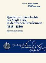 Buchcover: Quellen zur Geschichte der Stadt Trier
