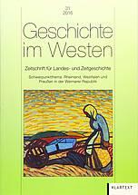 Buchcover: Rheinland, Westfalen und Preußen in der Weimarer Republik