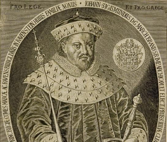 Portrait: Johann Sigismund von Brandenburg