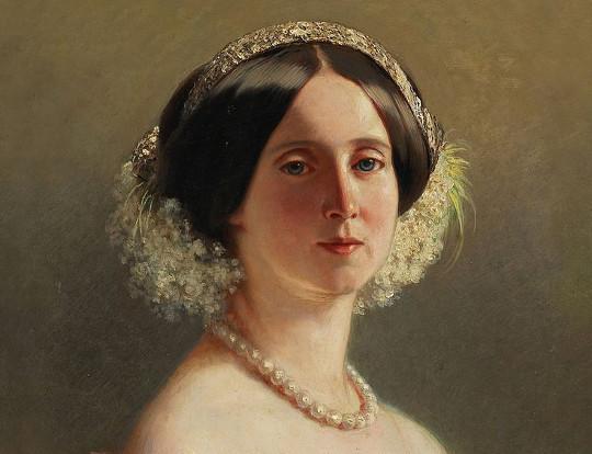 Portrait: Augusta von Sachsen-Weimar-Eisenach