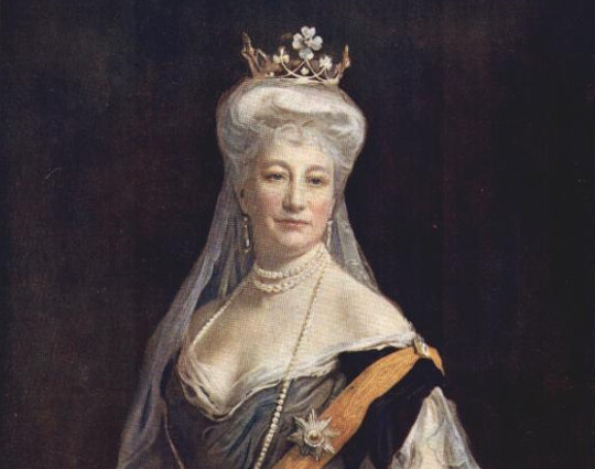 Portrait: Auguste Viktoria von Schleswig-Holstein Sonderburg