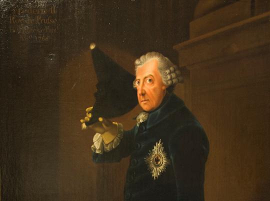 Portrait: Friedrich der Große