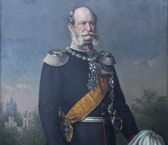 Portrait: Wilhelm I.