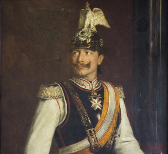 Potrait: Wilhelm II.