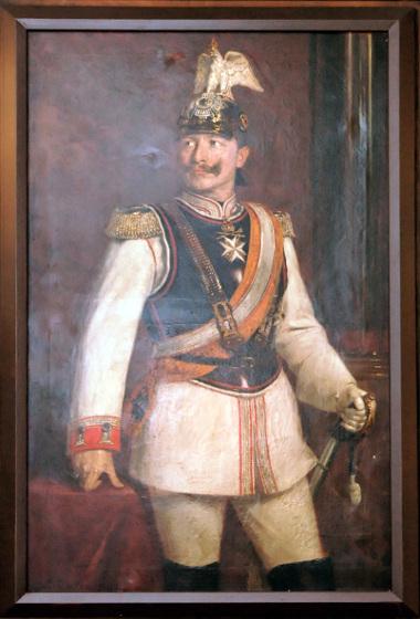 Gemälde: Wilhelm II. in der Paradeuniform