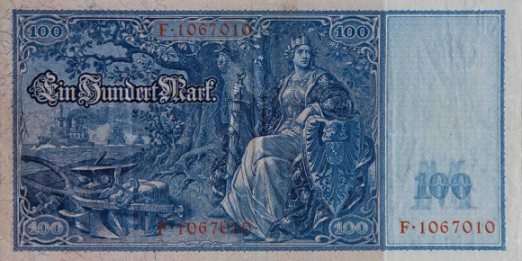 Banknote: 100 Reichsmark