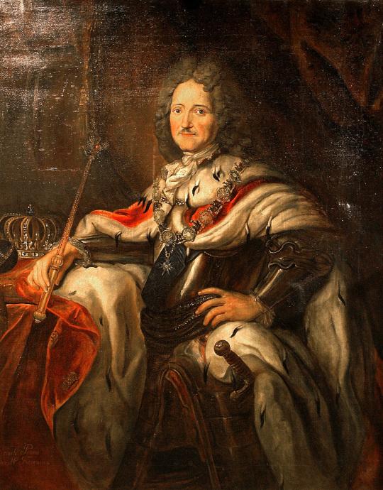 Portrait: Friedrich I. König in Preußen