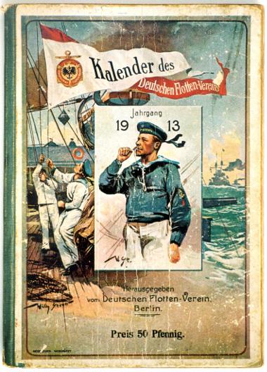 Kalenderblatt des Deutschen Flottenvereins