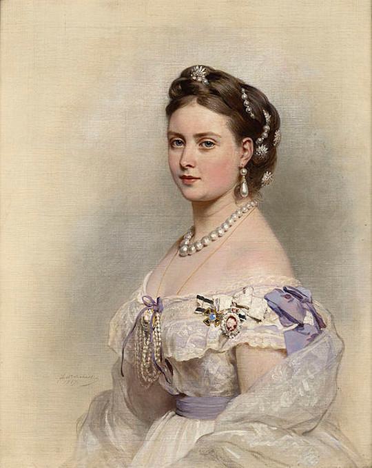 Portrait: Victoria von Großbritannien und Irland